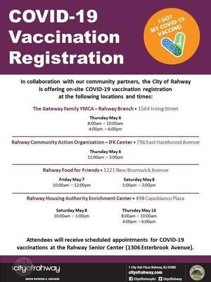 City of Rahway Vaccine