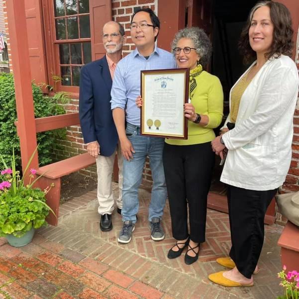 Historical Society Hosts Re-Dedication Ceremony of Clara Barton Schoolhouse