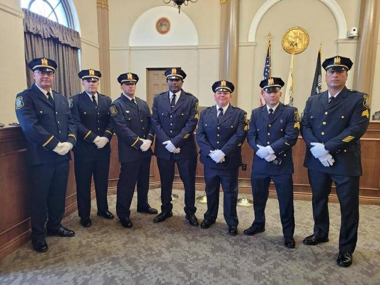 Bloomfield Police Department Promotes Seven