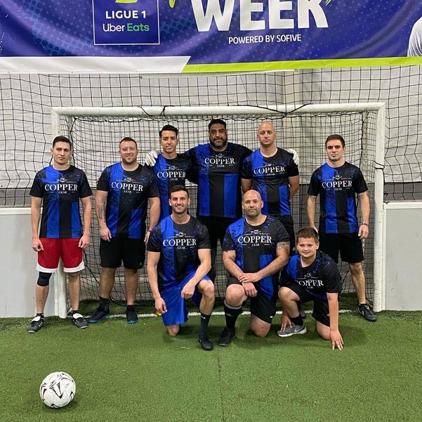 Cedar Grove and Verona Police Claim Trophy in Soccer Fundraiser for Families of Fallen Officers