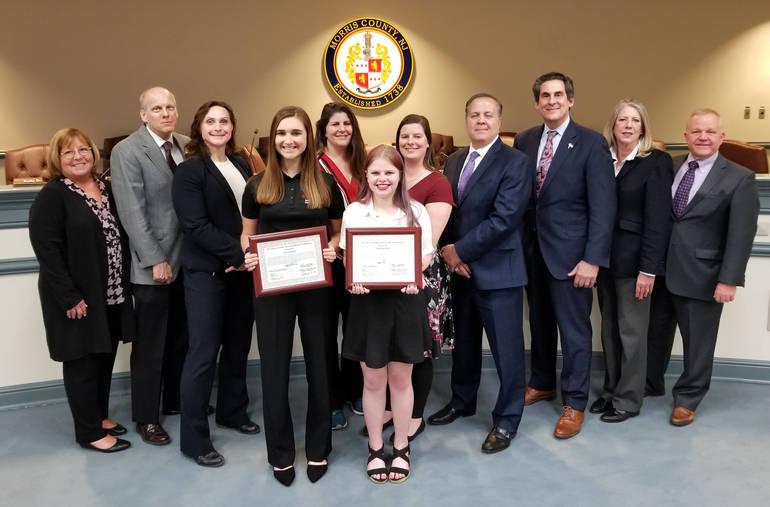 Johanna Pipoli of Roxbury gets county award