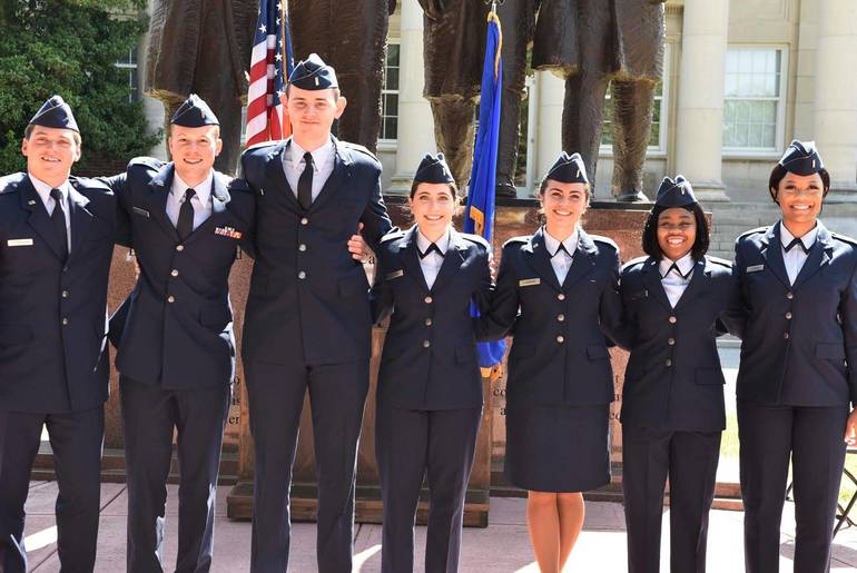 U.S. Air Force Commissions Livingston Native Macen Lantzman Among Newest Officers
