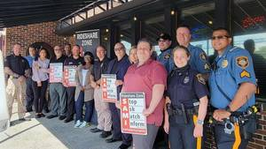 Township and City Police Team Up for Ride Share Safety Campaign