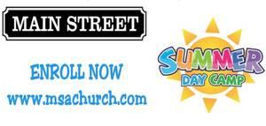 Main Street Alliance Church Offering Summer Day Camp