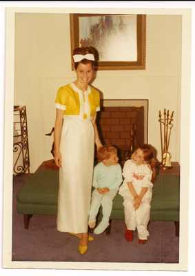 Author Judy Blume lived in Scotch Plains when this 1967 picture was taken.