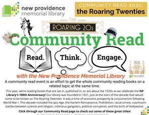Roaring Twenties Community Read in Full Swing at the New Providence Library