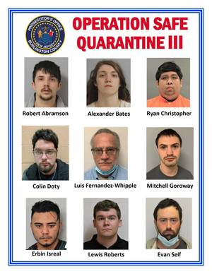 BurlCo Prosecutor's Office Nets 9 Pedophiles in Operation Safe Quarantine III