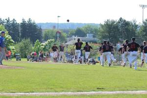 Baseball: Hunterdon Central Rallies to Beat North Hunterdon, 4-3, in 8 Innings in State Game