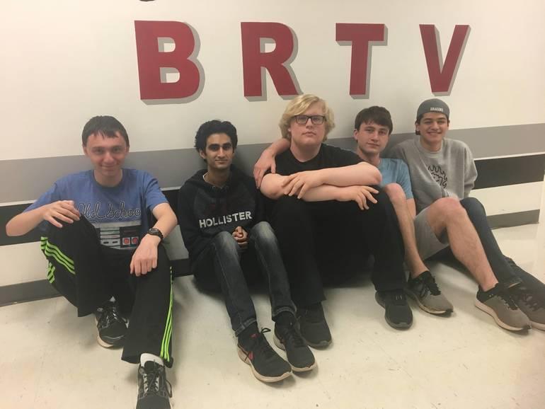 (L-R) JC Rutigliano, Alex Lane, Kyle VanLaningham and Parth Marathe