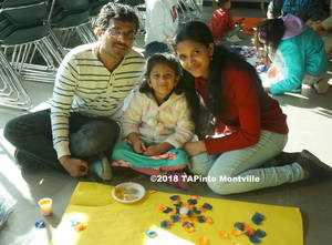 Carousel image d85c59eee911aac25d8c 1 a family poses with their rangoli  2018 tapinto montville  1.
