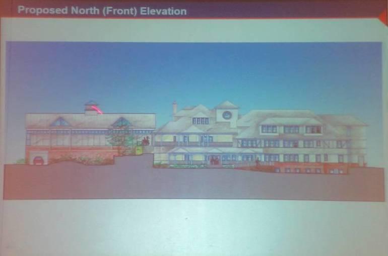 1 - Baird Community Center proposed front elevation.JPG