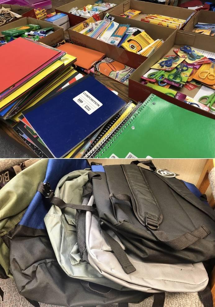 Watchung Hills Partnership Provides 100 Backpacks and School