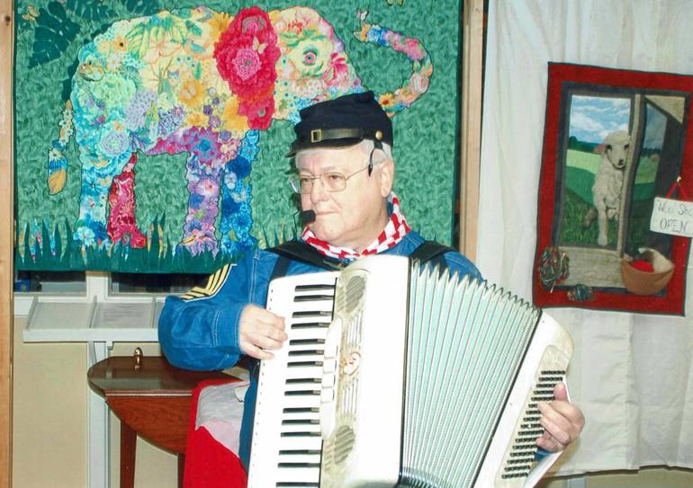 Dr. Eric Deutchman, accordion