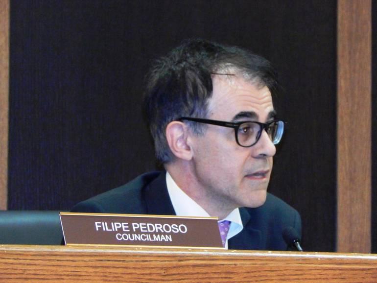 Councilman Filipe Pedroso