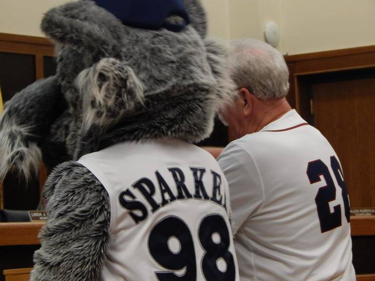 Sparky Lyle and Sparkee