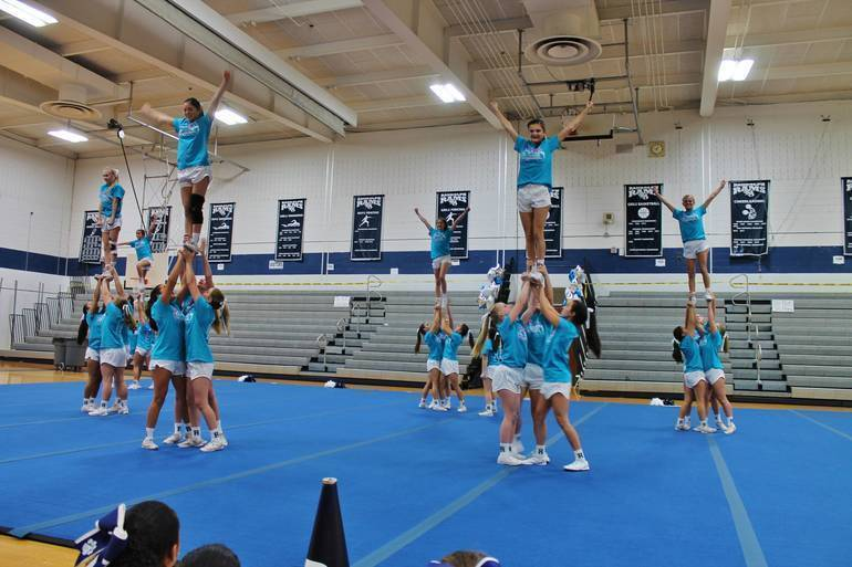 Randolph High School Competition Cheer Returns Amidst Covid-19 Pandemic