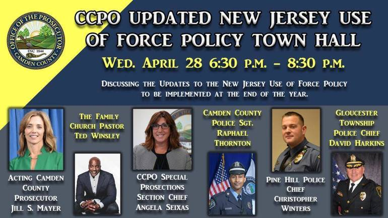 Camden Prosecutor to Host 'Use-of-Force' Town Hall