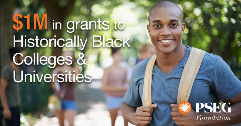 PSEG Foundation Announces $1 Million in Grants to  Historically Black Colleges and Universities