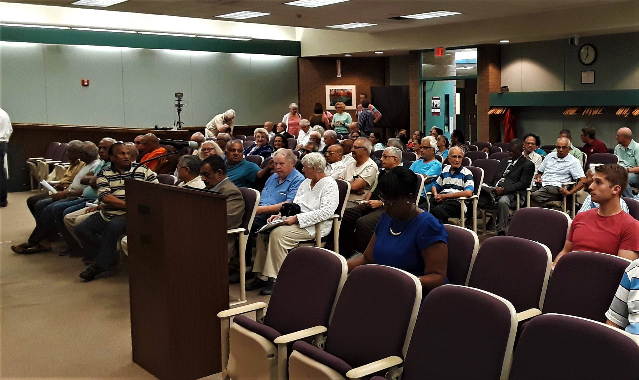 Public Speaks Out In Favor Of 'Peace' Monument At Council Meeting