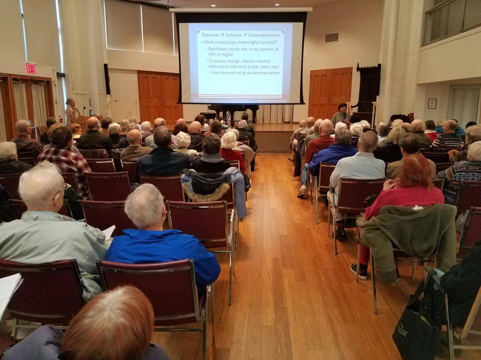 Lower Merion Narberth Town Hall Attendees 2019