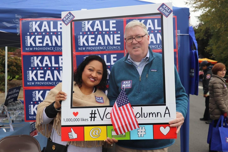 Rupa Kale & John FX Keane
