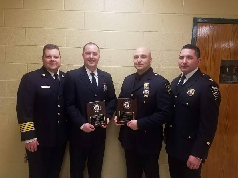 2019 K of C St. Pat's Dance Police & Fire Honorees.jpg