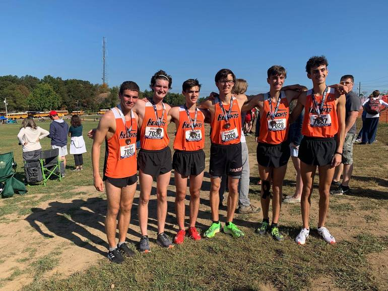 2019 Boys HH XC 1st place Garret Invitational Sept 28 from Julie Morrow.jpg