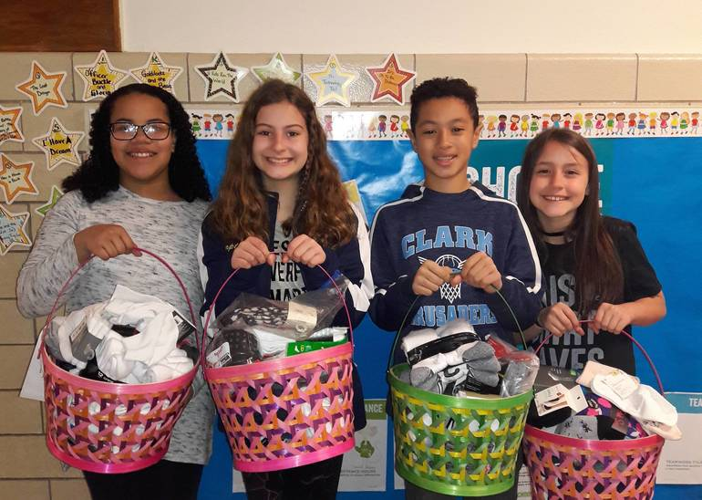 St. John the Apostle School is Sock-full of Giving
