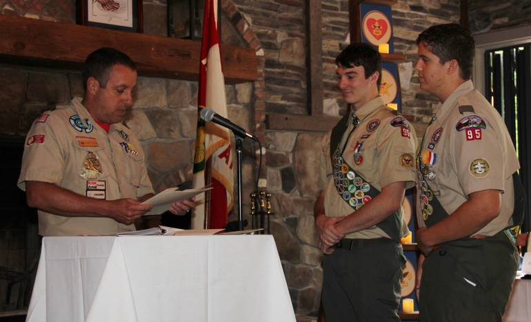 Thomson and Whilesmith Eagle Court of Honor