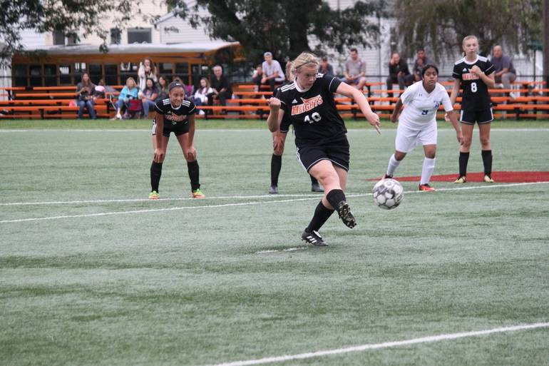 2018 Morgan Friedel scores in girls soccer by George F.jpg