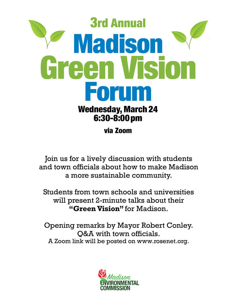 Madison Students to Star in Madison Environmental Commission Green Vision Forum