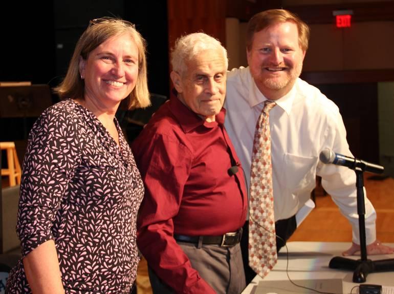 Holocaust Survivor Eric Mayer Visits SHS