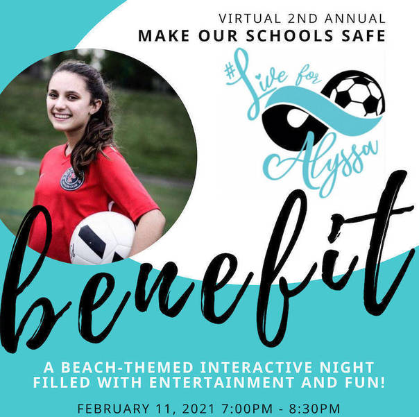 2nd Annual Live For Alyssa Benefit in February