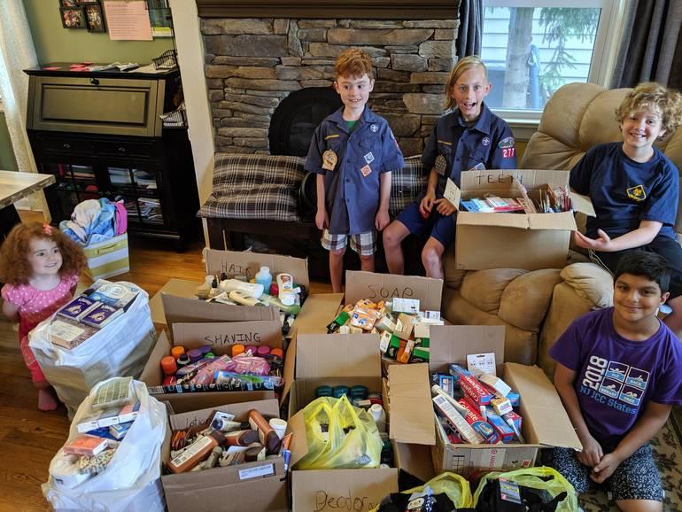 Organized supplies