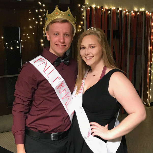 2019 Fall Formal King and Queen