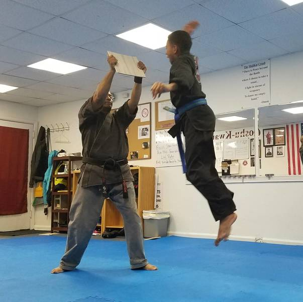 Student taking Belt Promotion Test.jpg