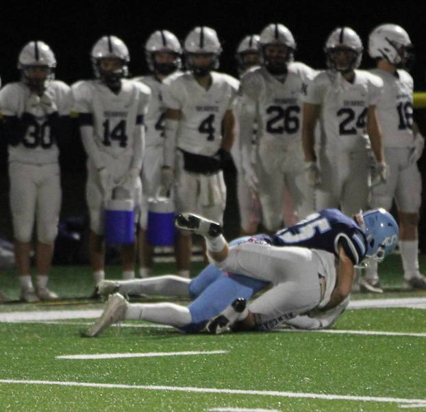 Sparta High School Football Falls to Shawnee