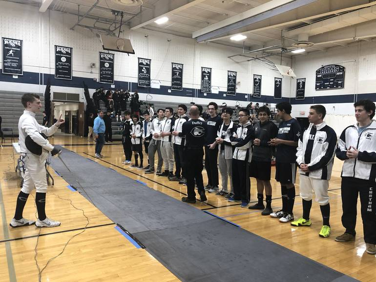 Chatham Boys Fencing Repeats as Morris County Champion; Chatham's Blanchard Wins MCT Epee title; Yen, Liu 2nd & 3rd in Sabre