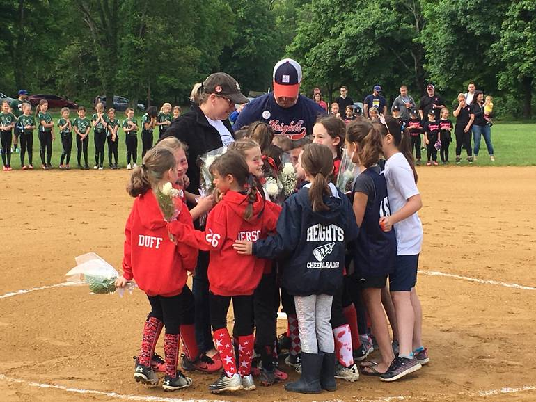 Heights Heat PAL U8 Softball Tournament Honors Annie Young