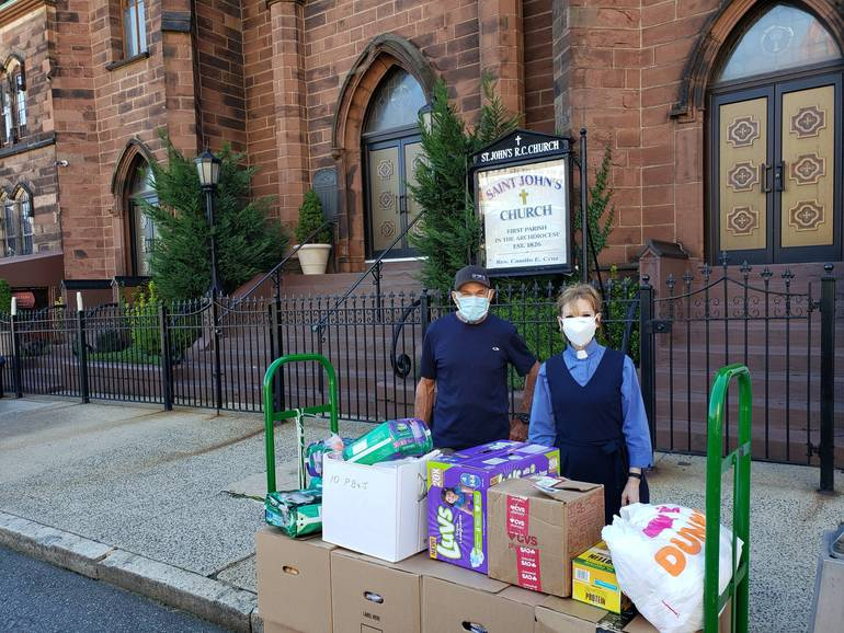 In Spite of Pandemic, Faith's Ministries Continue