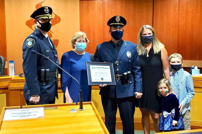 Summit Police Detective Christopher Medina Promoted to Rank of Sergeant