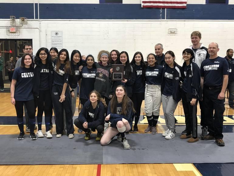 2020 MCFT girls fencing team 2nd.JPG