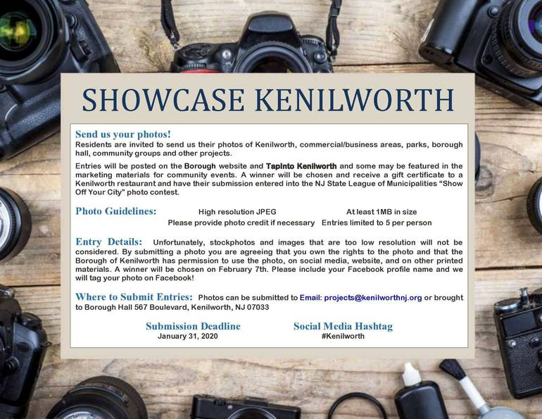 Updated: Showcase Kenilworth is Looking for Photos