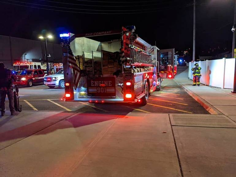 Fire and Smoke on a NJT Train Brings Wood-Ridge First Responders to Wesmont Station