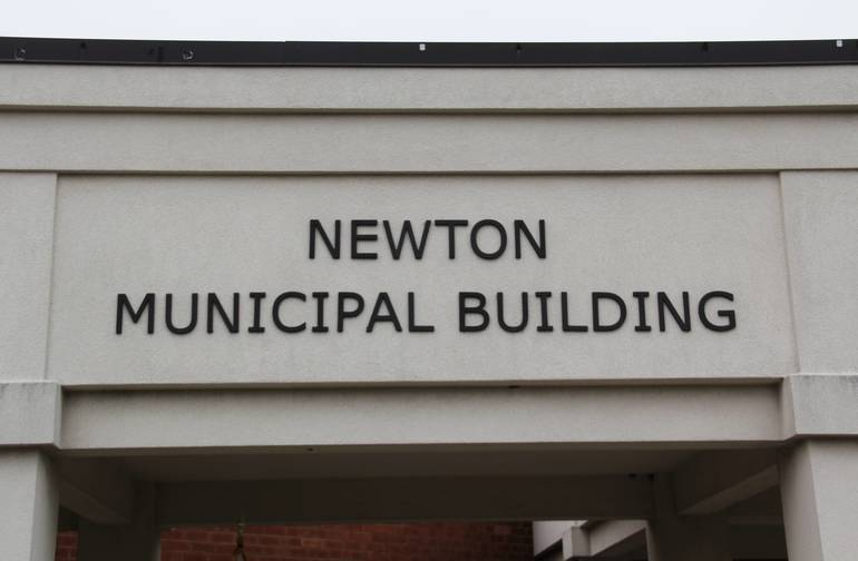 Town of Newton municipal building
