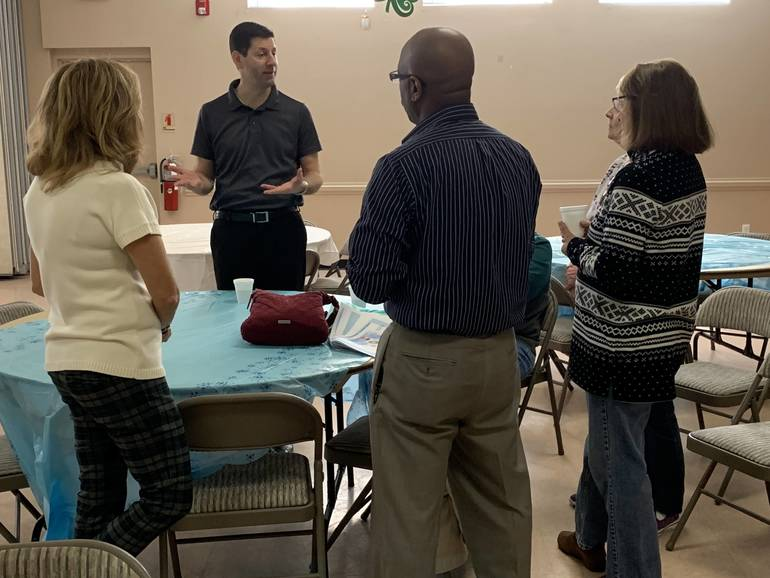 Senior Center's Breakfast With The Mayor Addresses Pool Renovations