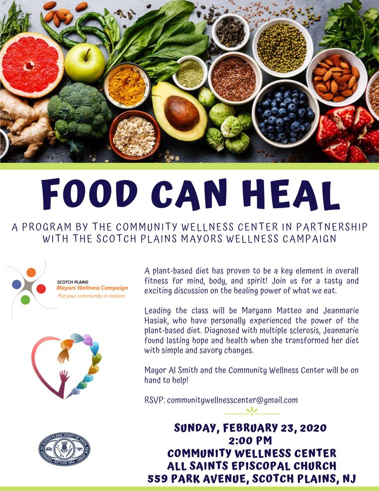 2020 Food Can Heal in Scotch Plains