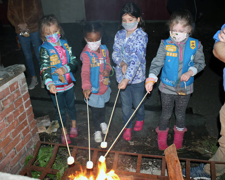 2020-06-02 Enrichment Girl Scouts Campfire patch 1.JPG