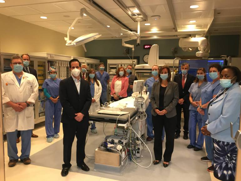 Newton Medical Center Launches Percutaneous Coronary Intervention Program for Heart Attack Patients