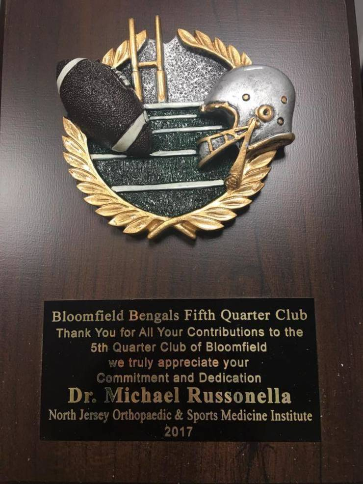 Dr. Russonella Bloomfield Football
